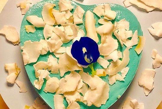 Ervilha do mar celta (pea sea) e receita de torta de clitória